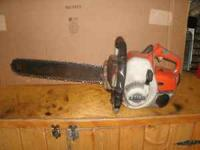 I have 3 chainsaws all stihls from the 60's one of them