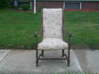 Great looking sitting chair with a lot of character and