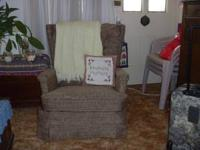 Recliner chair is comfortable. Ph #  Location: