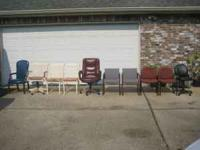 CHAIRS $25.00 - $75.00, CALL