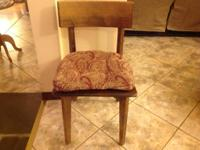 Chairs 1. Rocking chair $50.002. Kitchen Chairs