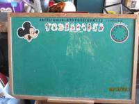 Large chalkboard for sale. Has Mickey Mouse characters