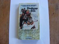 "This Listing is for ""Challenge to be Free"" on VHS"