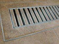 Chameleon Tile and Stone Floor Vent Registers Chameleon