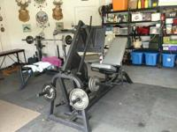 THIS IS A CHAMPION BARBELL LEG PRESS THAT IM SELLING