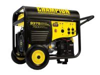 The Champion Power Equipment 41537 gasoline powered,