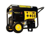 The Champion Power Equipment 41534 gasoline powered,
