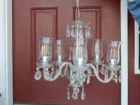 beautiful 5 light dining room chandelier, one of a