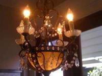 Beautiful chandelier that is currently retailing $100