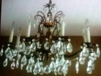 Antique chandelier.  Call Brian  show contact info