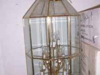 We have an assortment of very nice chandeliers for