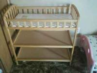 I have a changing table for sale. Only $25 comes with