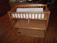 Baby changing table for sale......Light Oak