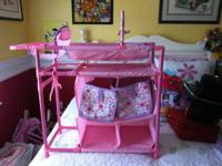 This is in excellent condition. It has a changing table