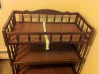 Comes from a smoke free pet free home.Changing table. &