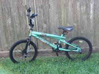 MY SON HAD THIS BIKE FOR OVER A YEAR BUT RARELY USED