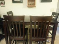 Dining Room Set For Sale!Counter-height table in