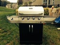 We have a Char-Broil Commercial Series propane grill