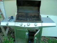 This is a 3 burner Char Broil Commercial Series gas
