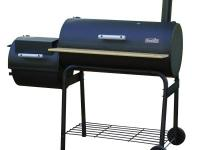 Outdoor grilling, smoking and barbecuing is a snap,