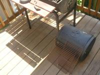 Black Char-Griller Charcoal Grill with NEW, never used