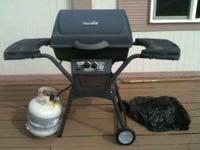 I'm selling a CharBroil Quickset brand barbecue and