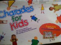 Charades For Kids Family Game Ages 4 and Up. Brand New