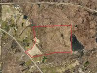 34.5 acres of woods(former sugarbush) bordered by land