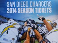 Selling Chargers Preseason Tickets:. A pair of tickets