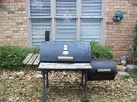 Chargrill Smoker with side firebox.Good condition