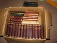 SET OF 16 OLD CHARLES DICKENS BOOKS AND MANY OTHER