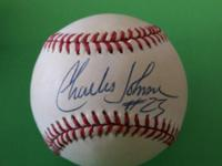 Charles Johnson #23 Colorado Rockies Baseball