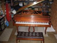 "Charles M. Stieff 9'6"" grand piano for sale by owner"