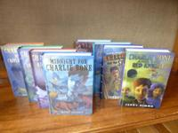 Entire Charlie Bone series in hardcover, 8 books in