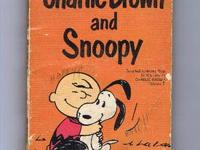 This vintage Charlie Brown & Snoopy book, by Charles M