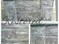 Welcome Charm Restored Hand Painted Furniture and