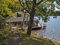 Charming Boathouse Living in Alton Bay! Featuring two