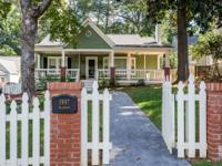 Collier Hills charmer with rocking chair front porch,