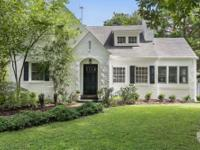 This charming, historic 1940 Morningside brick home,