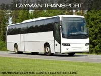 Layperson Tour & & Transport Inc. offers a contemporary
