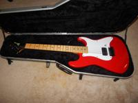 Charvel guitar model 1a in excellent condition. Has
