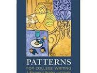 "ENGLISH 101: 11TH EDITION ""PATTERNS"" BOOK(SAME AS NEW"