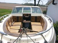 I have a 20 ft open bow deep v 1985 glassport boat has
