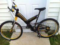 800 dollar bicycle. Has only been ridden a couple of