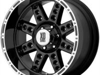 20x9 XD tires with 35x1250 Nitto Trail Grappler mt