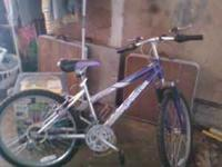 I have a Roadmaster womens mountain bike for sale . It