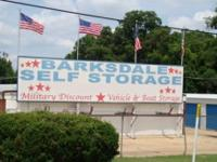BARKSDALE SELF STORAGE SPACE. 2205 BARKSDALE BLVD .