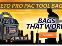 OUR 19 NEW VETO PRO PAC TOOL BAGS ANSWER THE NEEDS FOR