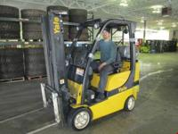 Hoist Liftruck Forklift 2007 45000LBS AVAILABLE NOW2007