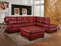 Check out this leather sectional only $999  We have two